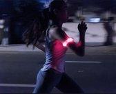 Reflecterende Hardloop Verlichting - Hardloop / Fiets Sport Armband Met LED Verlichting - ROZE