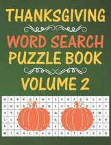 Thanksgiving Word Search Puzzle Book