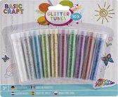 10 buisjes met glitters - Glitters knutsel - Knutselen glitter - Knutselen voor kinderen vanaf 3 jaar - Creatief voor volwassenen -Knutselen meisjes