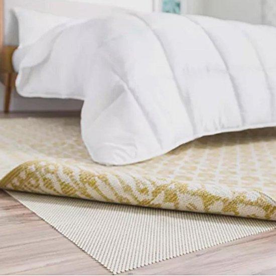 Anti slip mat voor badkamer – Zwart - 120x100 - Douche en badkuip - Douchemat - Badmat – Antislipmat ondertapijt - Matras - Wasmachine