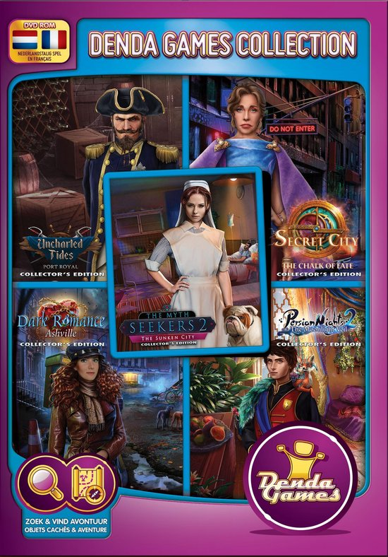 Collector's Edition 2021 - 5 Brand New Games - Denda Game 260