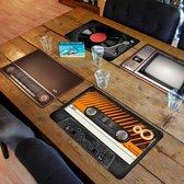 MikaMax Vintage Placemats  - Retro – 4 Stuks - 45x28cm