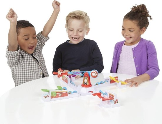 Thumbnail van een extra afbeelding van het spel Stef Stuntpiloot - Partyspel - Kinderspel