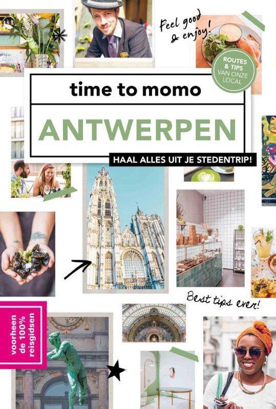 Boek cover time to momo Antwerpen van Joycie De Maeyer (Paperback)