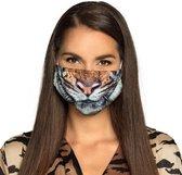 Tijger uitwasbare mondkapjes kopen.