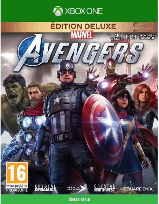 Marvel's Avengers Deluxe Edition Xbox One-game