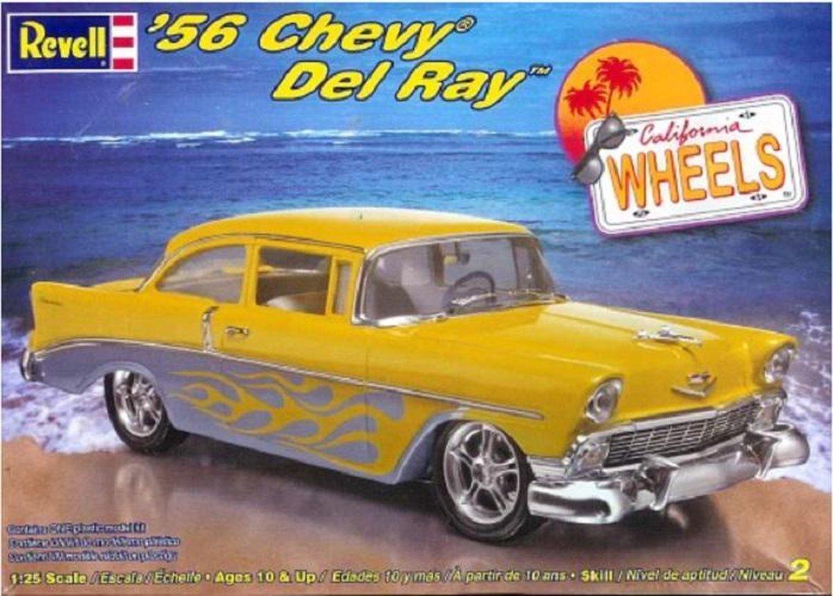 Revell 1956 Chevrolet Del Ray, (modelbouw, 1:25)