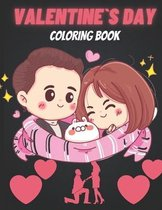 Valentine`s Day Coloring Book