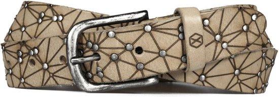 Leren Polygon riem – Zwart, Bruin, Cognac & 4 andere kleuren