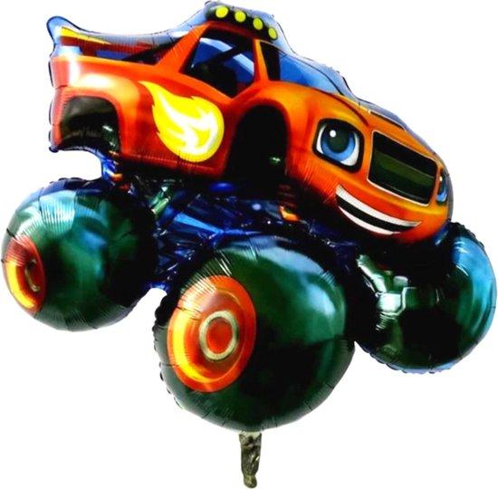 Blaze en de Monsterwielen Ballon - XL Groot 91 x 92 cm - Monstertruck - Blaze - Blaze Auto