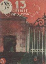 Treize crimes en trois jours