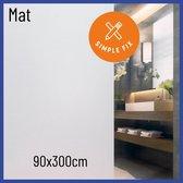 Raamfolie - 90cm x 300cm - Melkfolie - Plakfolie - Zelfklevend - Statisch - Privacy Verhogend - Anti Inkijk