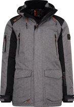 Wildstream - Heren Winterjas - Outdoorjas - Model Leeski - Grey-Maat L