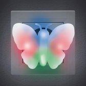 PHENOM - Energiebesparend Nachtlampje Vlinder voor in Stopcontact - voor Kinderen / Babykamer