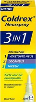 Coldrex 3-in-1  neusspray - Effectief bij verstopte neus - 20ml