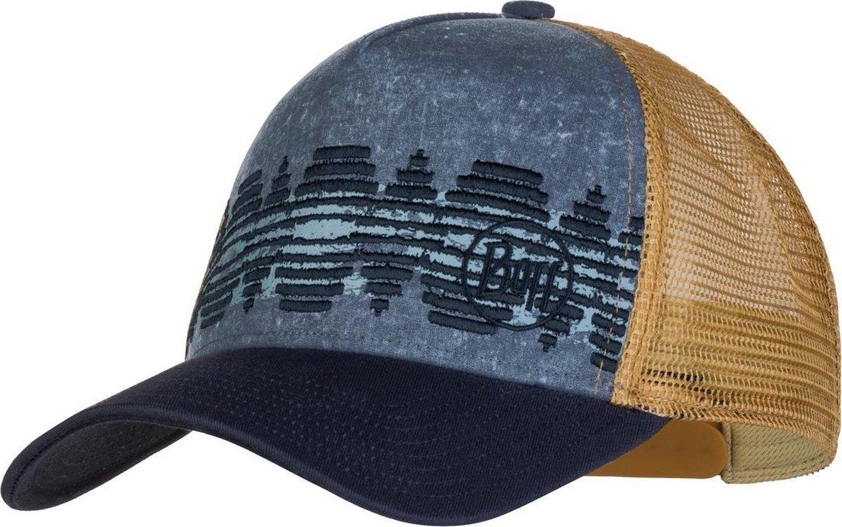 BUFF® Trucker Cap Tzom Stone Blue - Pet - Zonbescherming