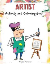 Artist Activity and Coloring Book