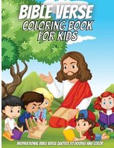 Bible Verse Coloring Book For Kids