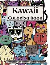 Kawaii Coloring book Kawaii Doodle Cute Japanese Style Coloring book