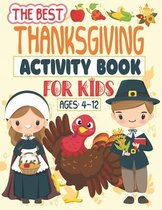 The Best Thanksgiving Activity Book For Kids Ages 4-12