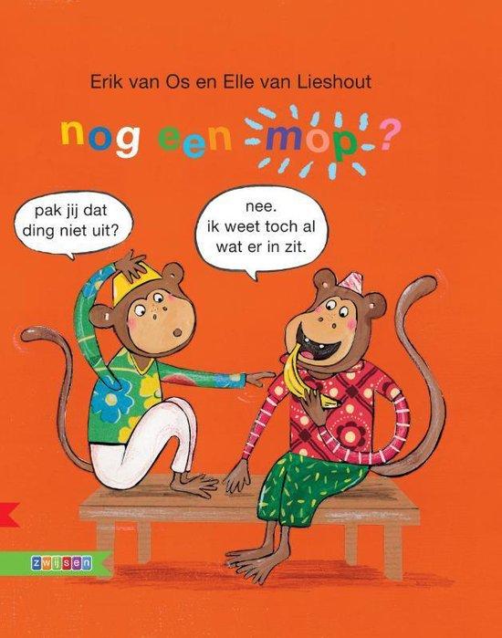 Boek cover Moppenboeken  -   Nog een mop van Erik van Os (Hardcover)