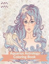 Aquarius Astrology Coloring Book