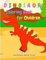 Dinosaur Coloring Book for Children