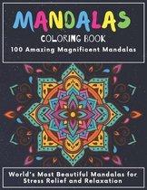 Mandala Coloring Book 100 Amazing Magnificent Mandalas