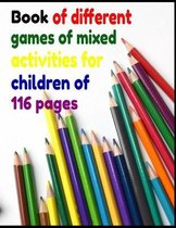 Book of different games of mixed activities for children