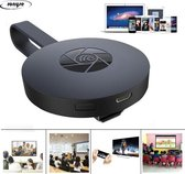 Wifi Chromecast - Miracast - HDMI Dongle - Mediaplayer - TV stick - TV screencast mirror - 1080 P - Airplay