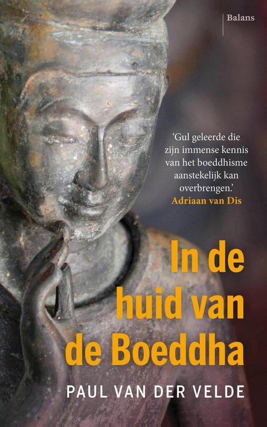 Boek cover In de huid van de Boeddha van Paul van der Velde (Onbekend)
