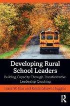 Boek cover Developing Rural School Leaders van Hans W. Klar