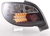 LED achterlichten set Peugeot 206 CC Convertible jaar. 98-05 zwart