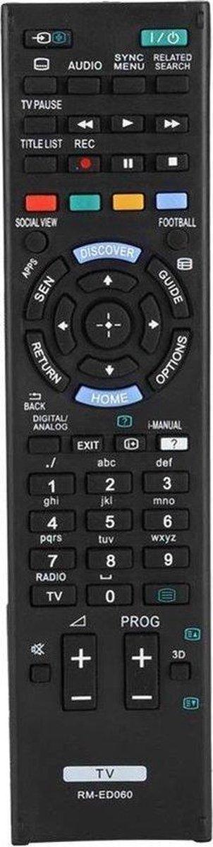 Sony afstandsbediening voor alle Sony LCD   LED   SMART televisie's [ TV ]
