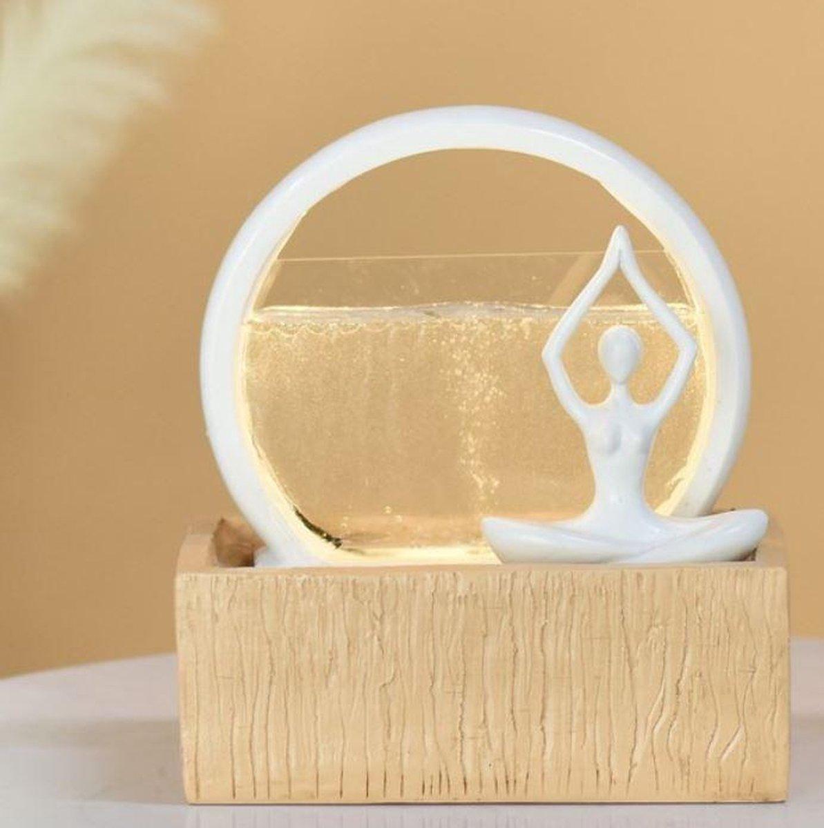 Moderne Vitality - fontein -interieur - fontein voor binnen - relaxeer - zen - waterornament - cadeau - geschenk - relatiegeschenk - origineel - lente - zomer - lentecollectie - zomercollectie - afkoeling - koelte