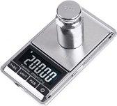 Precisie keukenweegschaal - 0,01g t/m 200g - Aluminium