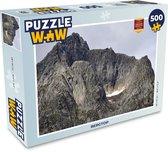Puzzel 500 stukjes Bergen - Bergtop  - PuzzleWow heeft +100000 puzzels