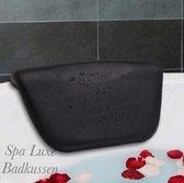 Spa Luxe Badkussen anti-slip zuignappen waterdicht