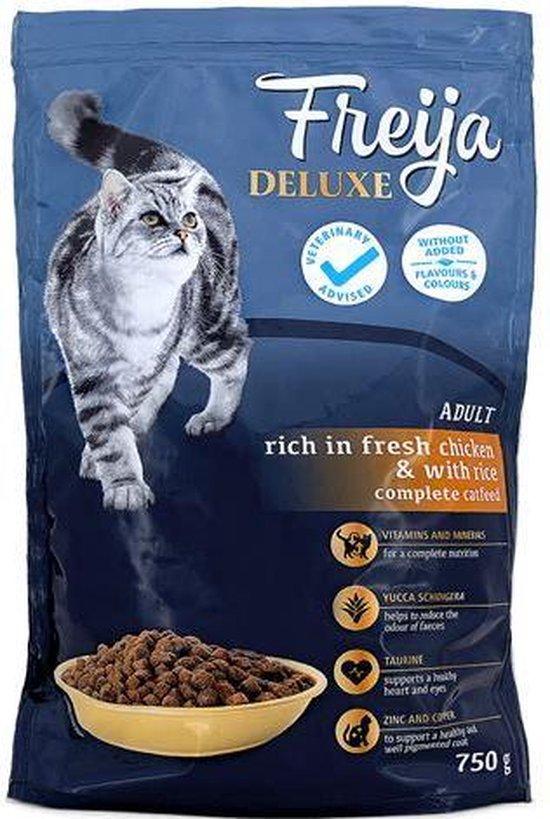 Freija cat food Deluxe kattenbrokken Deluxe