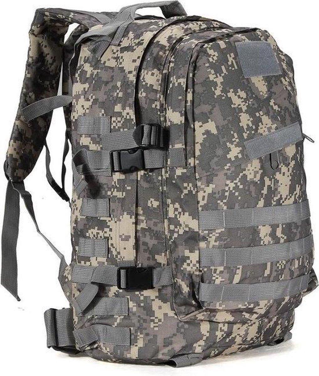 Backpack - Militair Tactisch - Techno Camouflage - Wandelrugzak - 55 Liter