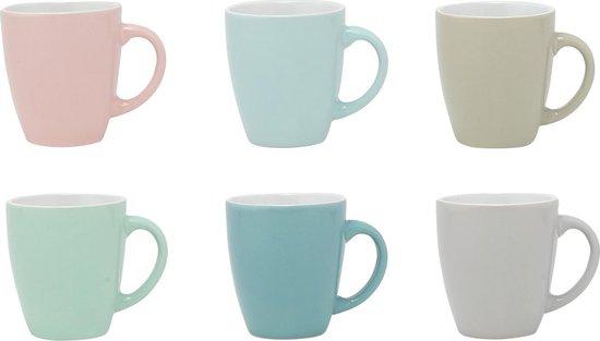 Koffiekopjes (6 stuks)   Espresso Kopjes   Koffie   Pastel Tinten   160ml