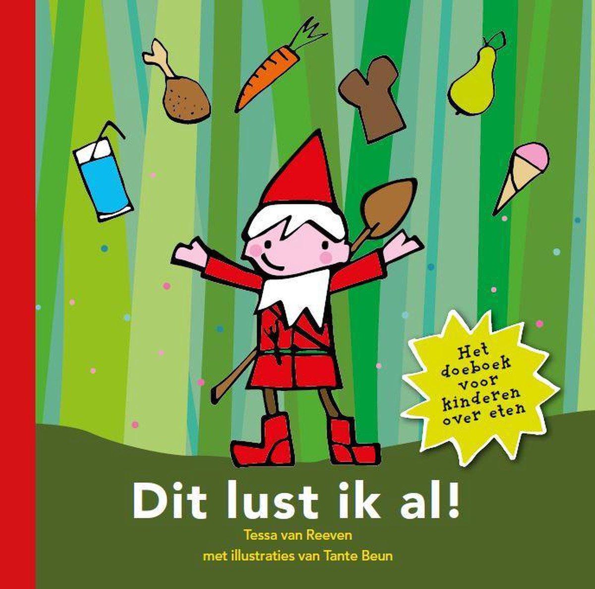 Dit lust ik al - Boek - kinderboek - eten - kabouter Bik
