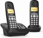 Gigaset AL220A Duo v2 - Duo DECT telefoon - Zwart