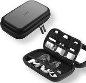 LURK® Hardcase compact travel organizer & Harde schijf tas - bureau kabel tasorganiser - Elektronica & accessoires reis etui