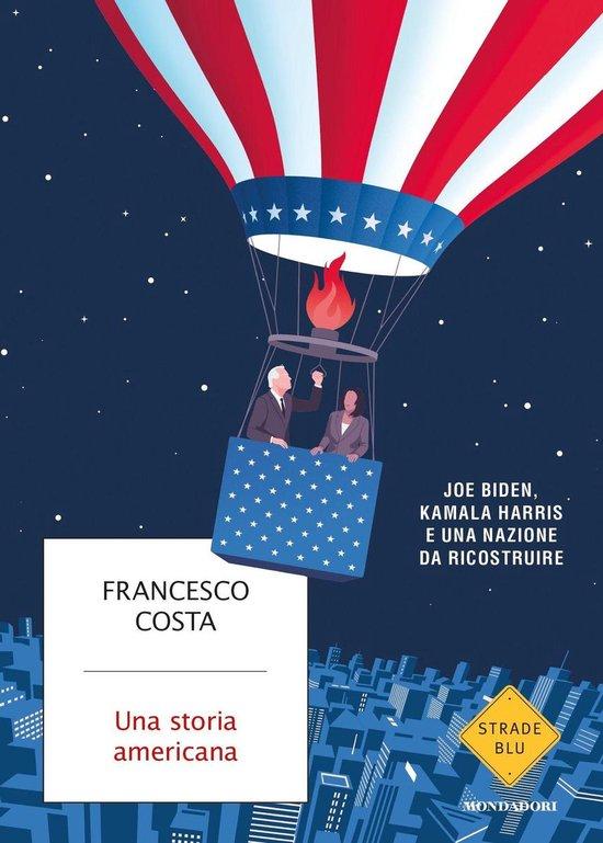 Boek cover Una storia americana van Francesco Costa (Onbekend)