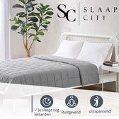 Slaapcity® Verzwaringsdeken 7 KG - Weighted Blanket - Verzwaarde Deken - Incl 5 jaar garantie - Anti Stress