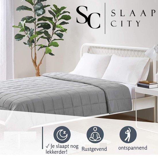 Slaapcity Verzwaringsdeken 7 KG - Weighted Blanket - Verzwaarde Deken - Kalmeringsdeken - Voor Een Betere Slaap - Autisme - Anti Stress
