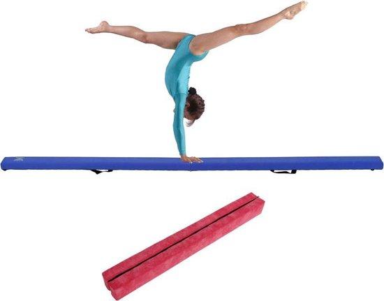 Dexters® Evenwichtsbalk   Turnbalk   Balk Evenwicht   Vloerbalk   Evenwichtsplank   Turnen   210 cm   Roze