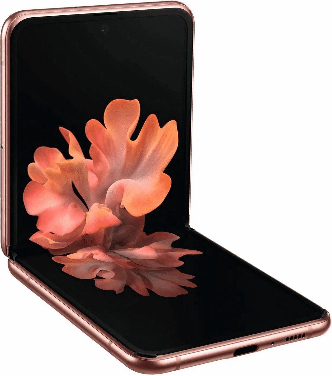 Samsung Galaxy Z Flip - 256GB - Mystic Bronze kopen