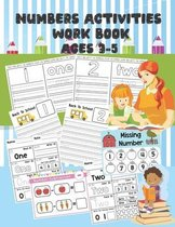 Numbers Activities Work book Ages 3-5